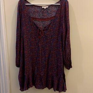 Boho Style Hippie Dress